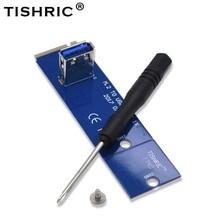 Tishric Ngff M.2 Naar Usb 3.0 Pcie 1x Tot 16x Riser Card Switch Transfer Card Adapter Voor Bitcoin Litecoin Mijnwerker