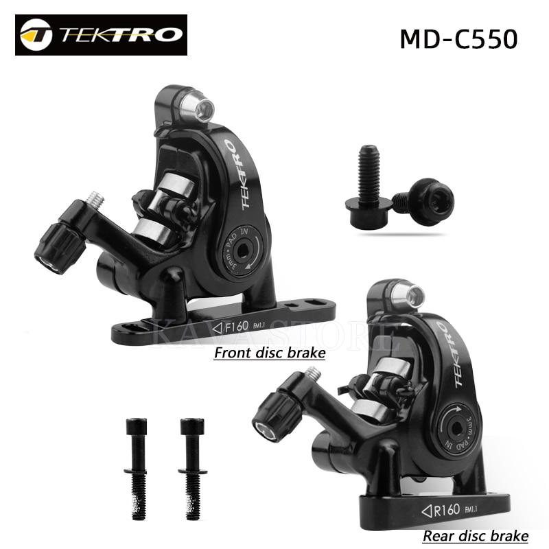 TEKTRO MD-C550 шоссейный велосипед, двойной поршневой кабельный суппорт, передний/задний Алюминиевый сплав, механические дисковые двойные тормоз...