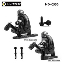 TEKTRO-MD-C550 de doble pistón para bicicleta de carretera, calibre de cables, aleación de aluminio delantera/trasera, frenos dobles