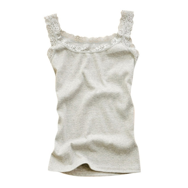Women Sexy Tank Tops Multicolors Sleeveless Bodycon Temperament T-shirt Vest Summer Fashion Lace Camisole Top 4