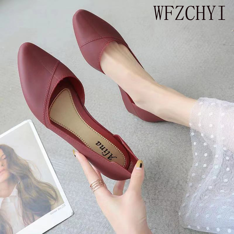 Women's Work Shoes Beach Shoes Women Jelly Sandals Summer Pointed-toe Slip-on Resin Wedges Sandals Solid Color Wedge Shoes