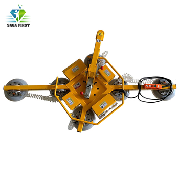 Portable suction cups glass lifting equipment for lifting glass