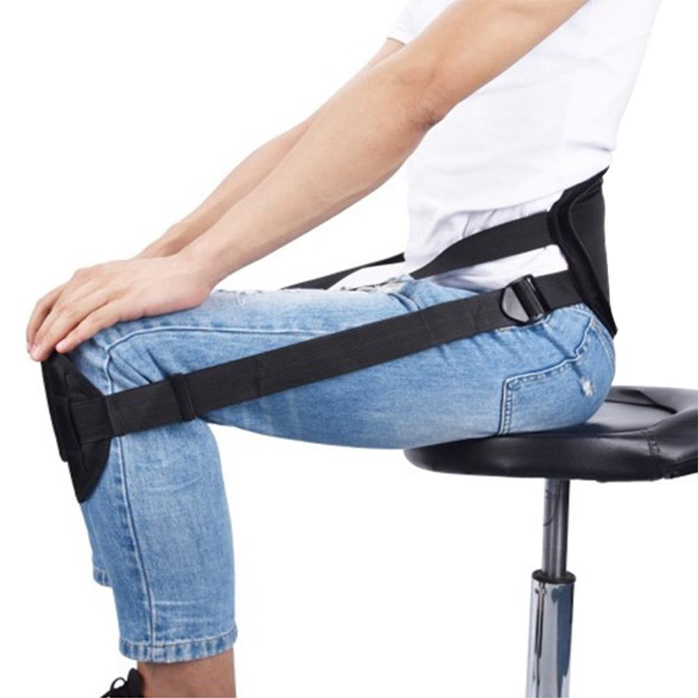 Belt-Pad Back-Support Sitting Adjustable Himiss For Posture-Correction Pain-Relief