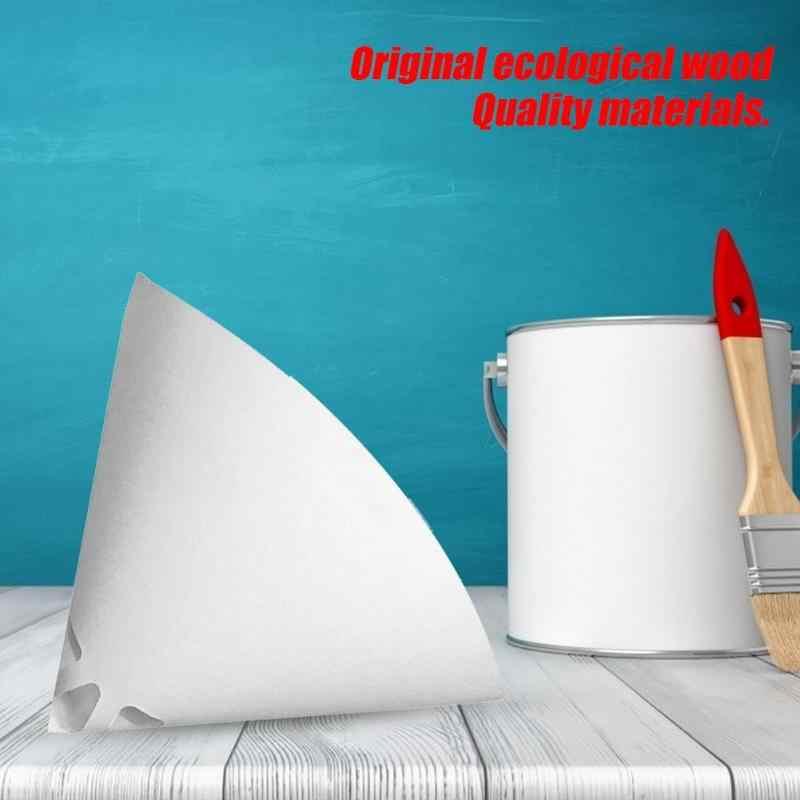 100 Mesh Paper Paint Strainers Mesh Filter Cone Paper Native Wood Pulp Environmental Protection Paint Conical Strainers