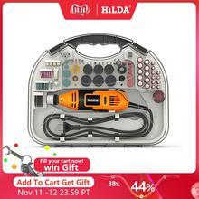 Hilda電動ミニドリルdremelグラインダー彫刻ペンミニドリル電動回転工具研削盤dremelアクセサリー