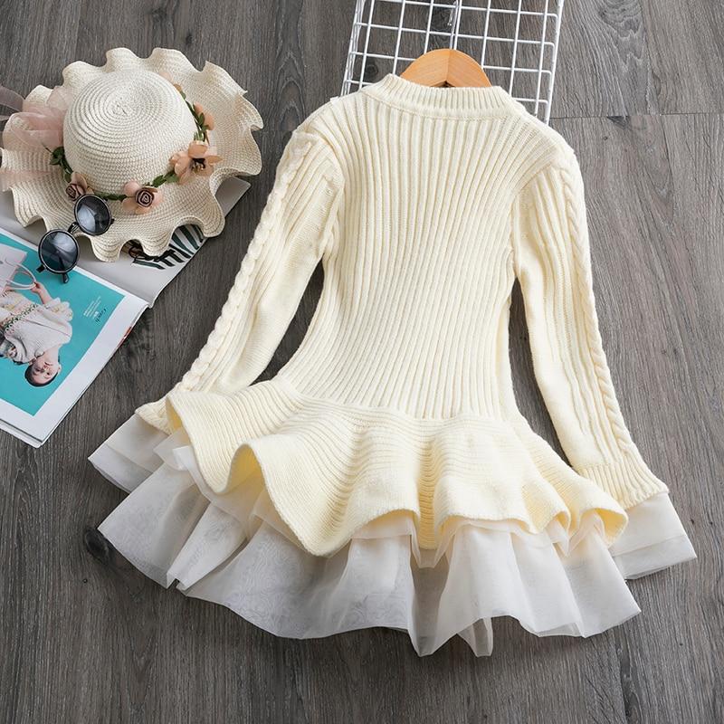 Hde07d14eb29048d7beac754cb902a47fV Petals Designs Girl Dress Children Party Costume Kids Formal Events Vestidos Infant Tutu Flower Dress Fluffy Wedding Gown 3 5 7T