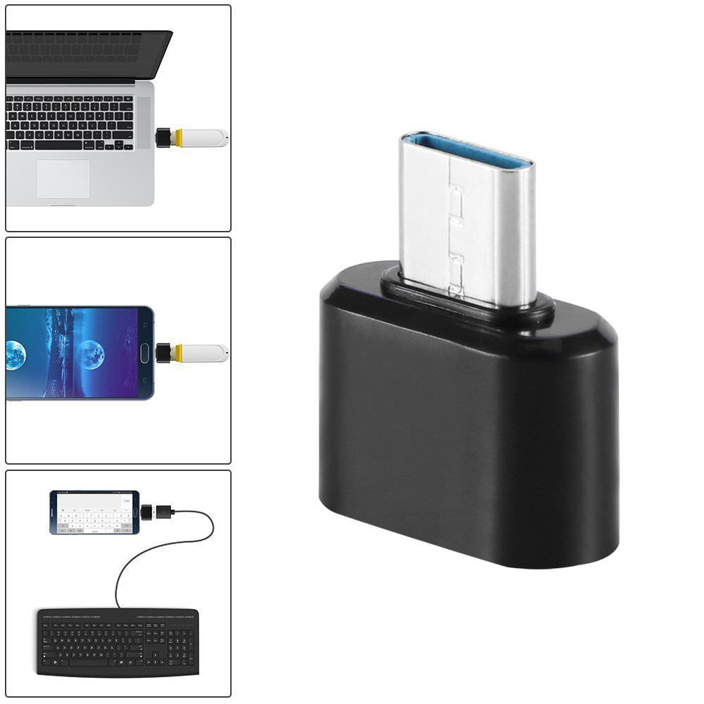USB 3 0 Type C OTG Cable Adapter USB C OTG Converter for Xiaomi Mi6 Huawei Mate20 P20 P30 Pro Samsung Mouse Keyboard DIsk Flash in Phone Adapters Converters from Cellphones Telecommunications
