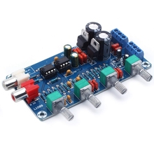 NE5532 OP-AMP HIFI Amplifier Volume Tone EQ Control Board DIY Kits lusya classic bile op amp 300b 2a3 kt88 hifi op tube amplifier sound op amp upgrade module t1321