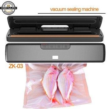 90-240V Wet & seca alimentos domésticos sellador máquina de envasado al vacío Film sellador envasador al vacío incluyendo bolsas de 20 piezas