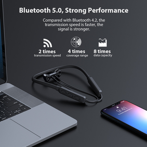 Image 2 - Dacom G03H Sport Neckband Bluetooth Earphone 5.0 Wireless Ear Phones Buds High Quality with Microphone for IPhone Xiaomi Samsung