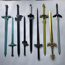 1:1 Sword Art Online Elucidator Dark Repulsor Sword Weapon Cosplay SAO kirito Asuna sword Anime Ninja Knife PU Weapon Prop