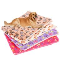 new-arrival-winter-thicken-warm-paw-print-coral-fleece-pet-dog-puppy-blanket-doghouse-mat