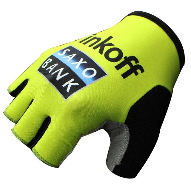 2020 pro equipe luvas de bicicleta gel acolchoado metade do dedo das mulheres dos homens verão esportes à prova choque anti deslizamento mtb ciclismo luvas 1