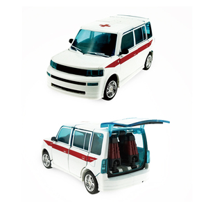 Image 2 - Ambulance Transformer Rescue Pioneer Alteration Simulation Car Robot Toy