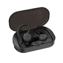 TWS Bluetooth Headphones True Wireless Earbuds IPX7 Waterproof Ear-Hook HD Bass Sound Headset CVC Headsets for Gym Running цена