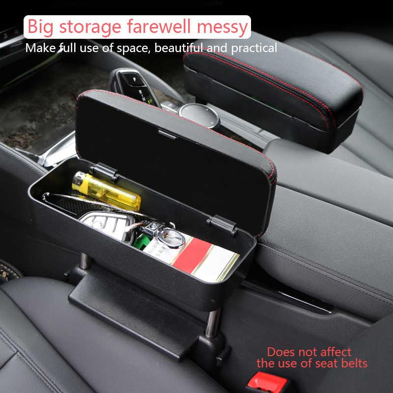 Evrensel araba kol dayama kutusu dirsek desteği ayarlanabilir araba merkezi konsol kol dayanağı araba Styling oto koltuğu Gap organizatör kol dayanağı kutusu
