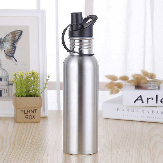 750Ml Stainless Steel Sport Water Bottle Portable Outdoor Drink Bottle Hiking Climbing Camping Riding Bottle 1