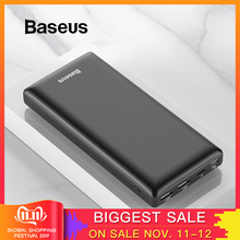 Baseus Power-Bank Portable Charger External-Battery Usb-C Type-C Huawei iPhone11 Samsung