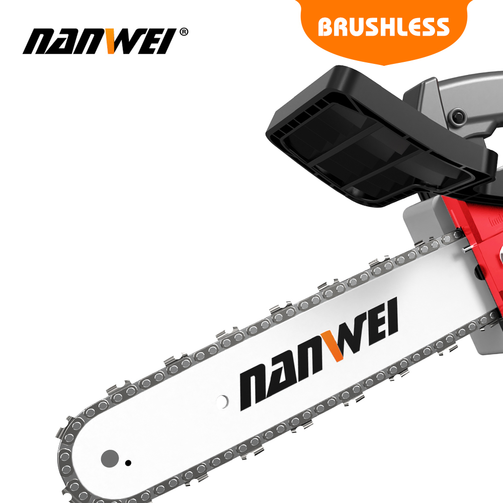Tools Cutter Chainsaw Wood Household  Motor Garden NANWEI Cordless Brushless