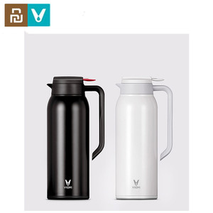 Image 1 - Original Youpin Steel Vacuum Cup VIOMI Thermo Mug 1.5L Stainless 24 Hours Flask Water Kettle for Baby for smart home