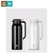 Original Youpin acier tasse à vide VIOMI Thermo tasse 1.5L en acier inoxydable 24 heures flacon bouilloire pour bébé pour maison intelligente