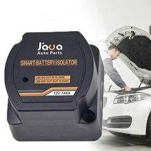 12v/140a 24v/100a led inteligente dupla bateria isolador protetor tensão sensível relé charing impermeável para carro universal rv