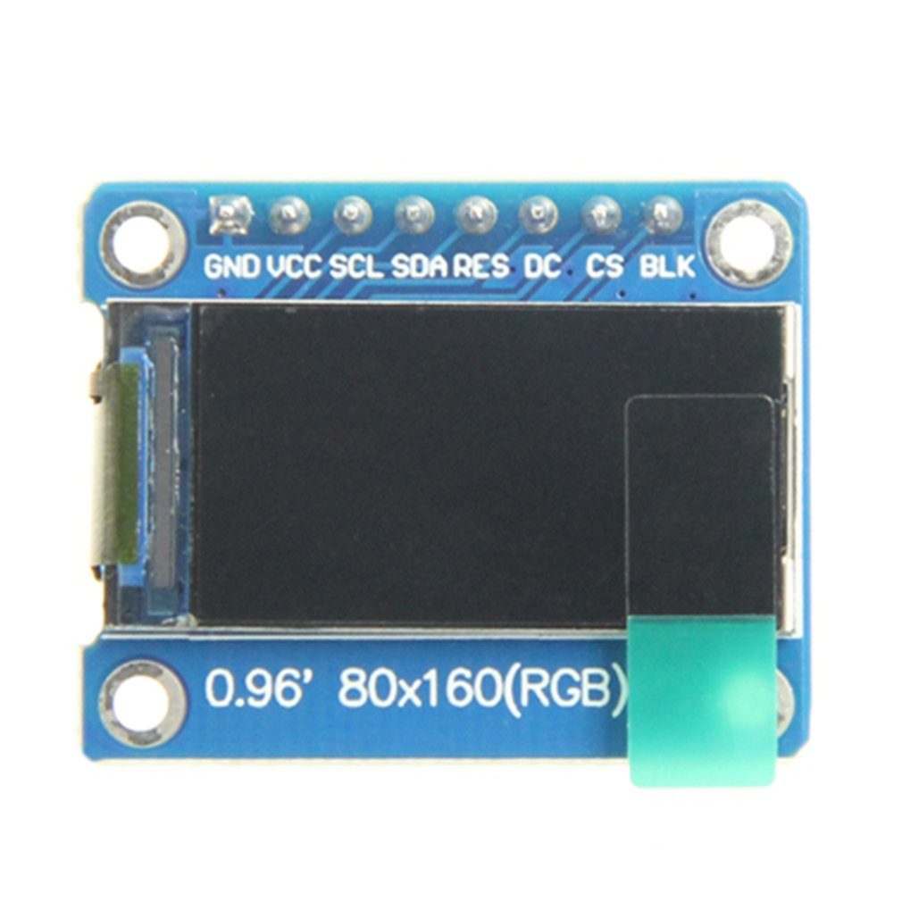 0.96inch LCD Display Module IPS Screen 160x80 HD Resolution SPI Interface With Embedded Controller Replacement