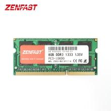 ZENFAST DDR3 4GB 8GB 1333Mhz 1600Mhz SO-DIMM 1.35V Notebook RAM 204Pin Laptop Memory Sodimm