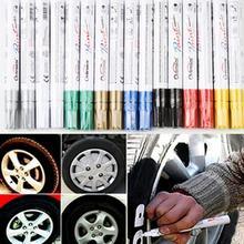Универсальный водонепроницаемый постоянный краска маркер ручка автомобиль шина шина протектор резина металл