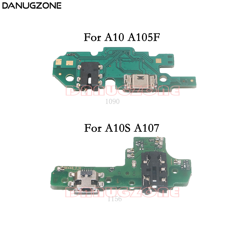 USB Charging Dock Port Socket Jack Plug Connector Charge Board Flex Cable For Samsung Galaxy A10 A105F A10S A107F SM-105F/107F
