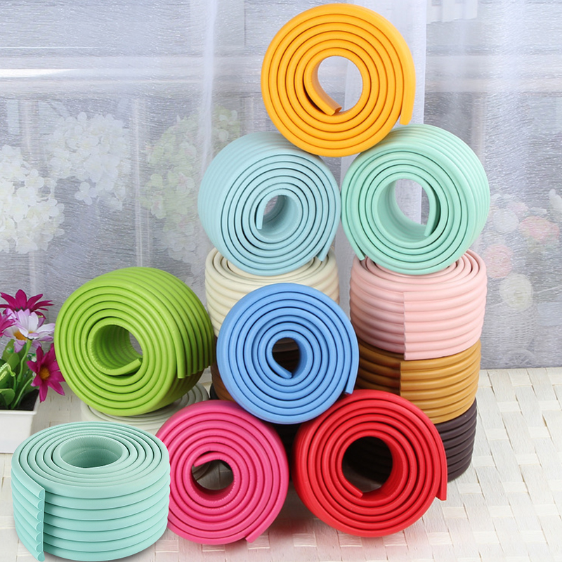 2M Child Protection Table Edge Guard Home Cushion Protector Baby Safety Furniture Silicon Protect Corner Cover Safety Supplies