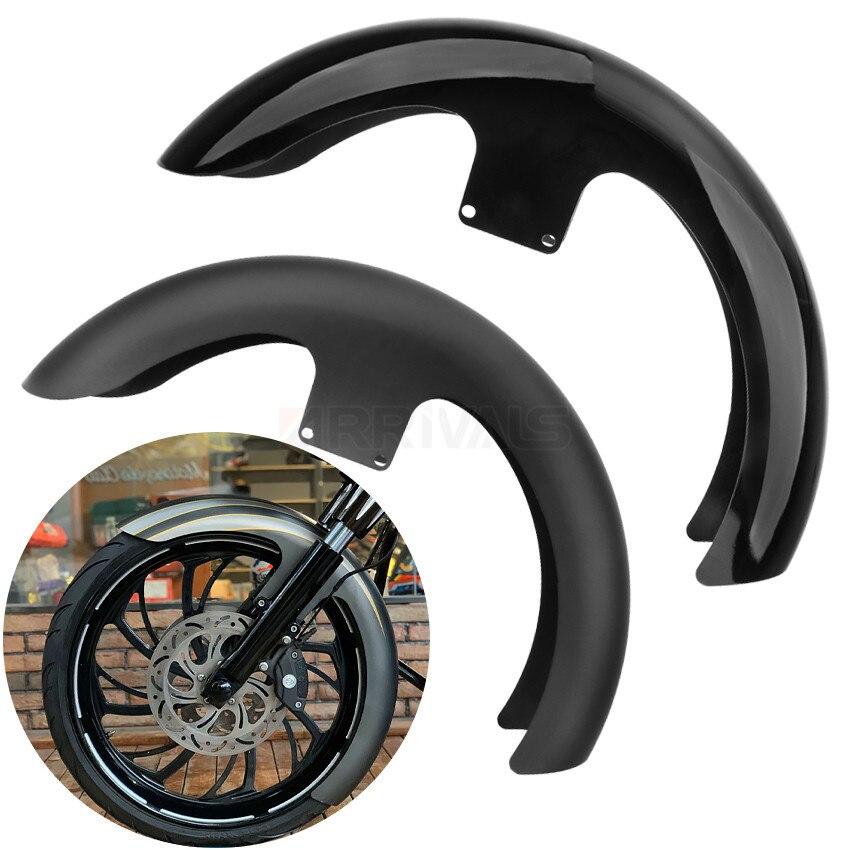 Яркий тупой черный мотоцикл 21