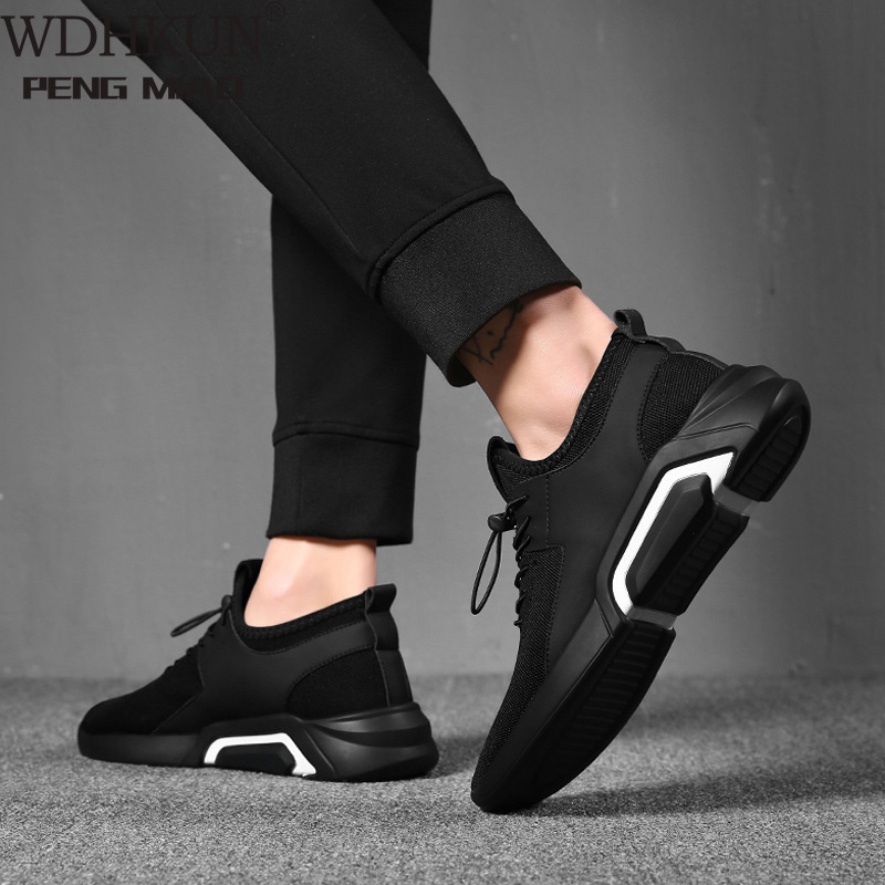 Spring Autumn Fashion Mens Casual Shoes Lace-Up Breathable Shoes Sneakers Mens Trainers Zapatillas Hombre Sneakers Men