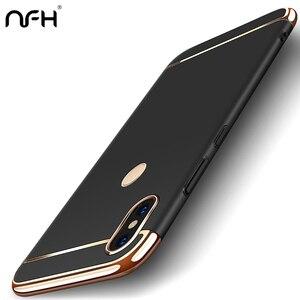 Роскошный чехол-бампер с покрытием для телефона Xiaomi Redmi 7A 8A Note 7 Note 8 Pro Redmi GO Pocophone F1 Mix2 2S, жесткий матовый чехол