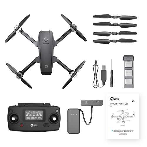 Holy Stone HS720 RC Professional Quadcopter Drone with GPS and 26 Min Flight Time 24