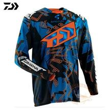 цена на 2019 DAIWA Men Fishing Clothing Ultrathin Long Sleeve Sunscreen Anti-uv Breathable Coat Summer Fishing Shirt Size XS-5XL Jacket