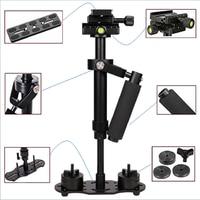 ALLOYSEED S40 40cm Aluminum Alloy Handheld Video Stabilizer For Steadycam Steadicam Stabilizer For Canon Nikon Sony DSLR Camera