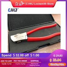 CHKJ cortadora de llaves Original Lishi, cortador de llave de coche, cortadora de llaves automática, herramienta de cerrajero, corte de llaves planas directamente