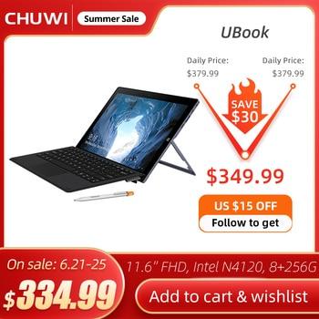 CHUWI UBook 11.6 Inch IPS Screen Tablet PC Intel Celeron N4120 Quad Core LPDDR4 8GB 256GB SSD Storage Windows 10 OS Tablet 1