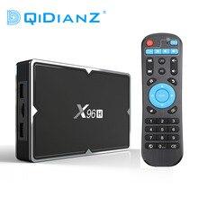 新しい X96H 6 18K アンドロイド 9.0 Tv ボックス 4 グラム 32 グラムデュアルバンド Wifi Blueooth サポート HDMI でアウト Youtube セットトップボックス PK X96 ミニマックス