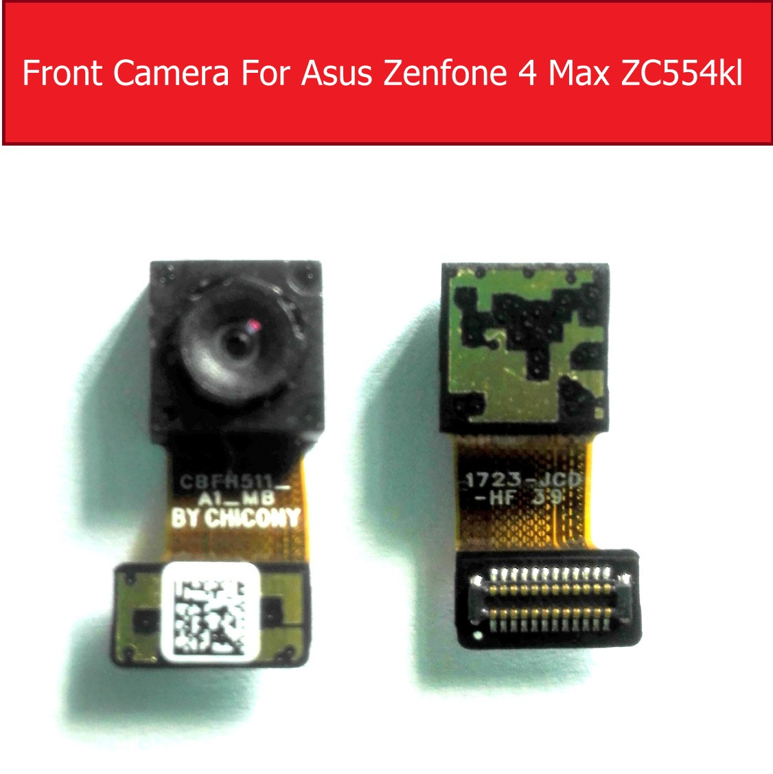 Front Facing Small Camera Module For ASUS Zenfone 4 Max ZC554KL Small Camera Replacement Repair Parts
