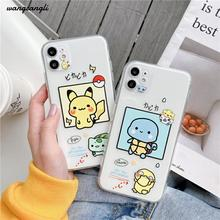 Cute phone case for iPhone 7 8 11 x xr xs max All-inclusive phone case for iPhone 11 pro 11 pro max 7 8 Plus transparent case oneplant transparent electroplated phone case for iphone 11 pro max xr xs x xs max all inclusive phone cover for iphone 7 8 plus