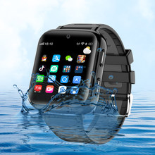 Smart watch 4G ip68 real waterproof swimming style sim card GPS positioning SOS WIFI Android Smart Dual cameraWatch boy girl(China)