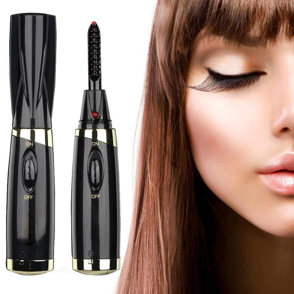 High Quality Electric Heated Eyelash Curler Electric Perm Curling Iron Eye Lashes Applicator Eye Lashes Curler Clip Tool