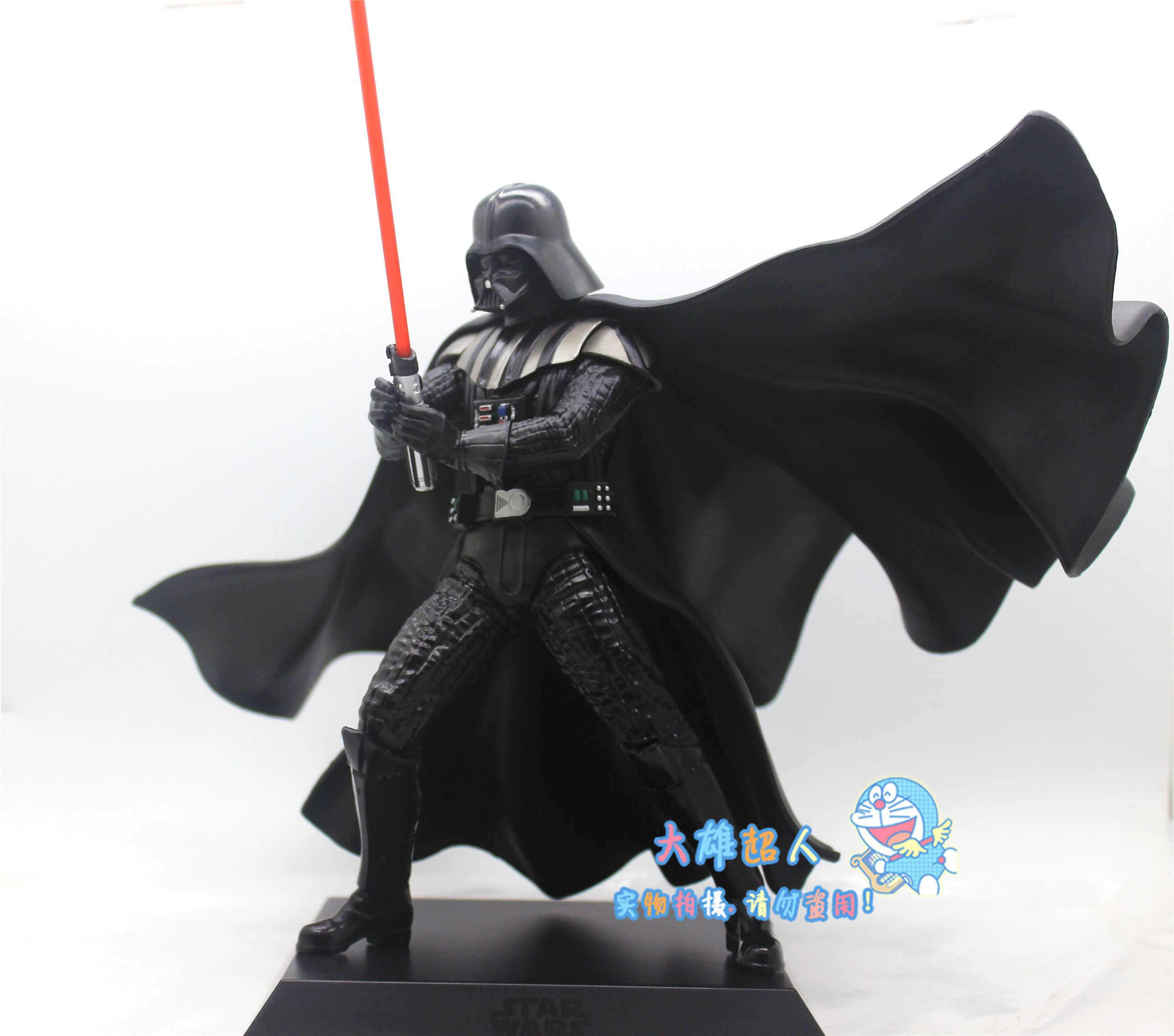 22 Cm Darth Vader Figure Star Wars LPM Aksi Anime Asli Figure PVC Model Koleksi Angka untuk Anak-anak 0.5en Mainan hadiah 0.5