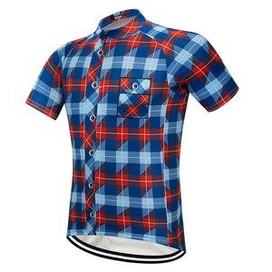 Image 3 - Moxilyn marka bisiklet jarse bluz kısa kollu yaz erkek gömleği hızlı kuru nefes bisiklet aşınma yarış bisiklet bisiklet giyim