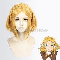 The Legend of Zelda: Breath of the Wild Princess Zelda Cosplay Short Hair Wig
