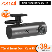 70mai Smart Dash Cam 1S Engels Voice Control 1080P Superieure Nachtzicht 70 Mai 1S Auto Recorder wifi Auto Dvr Video Dashboad(China)