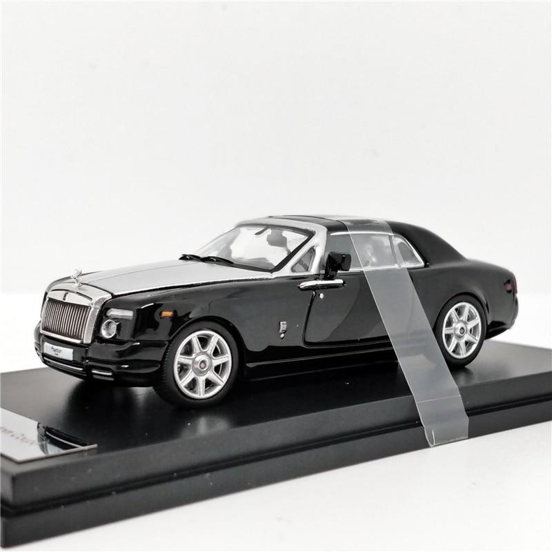 1:64 Rolls Royce Rolls Royce Phantom Coupe Black/Silver  Diecast Model Car