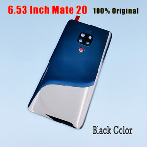 Image 2 - Original for Huawei Mate 20 Battery Cover Mate20 Pro Back Glass Panel For Huawei Mate20 Rear Door Housing Case With Camera Lens